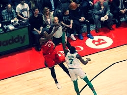 DESPITE MISSING TWO GAMES IN FEBRUARY, CJ MILES SCORED 20 POINTS AGAINST BOSTON CELTICS IN THE RAPTORS' VICTORY ON FEBRUARY 6, 2018.