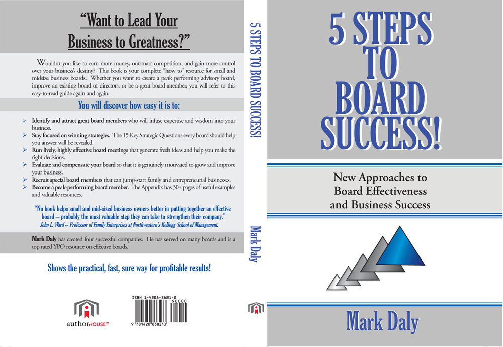 5 Steps To Board Success by Mark Daly