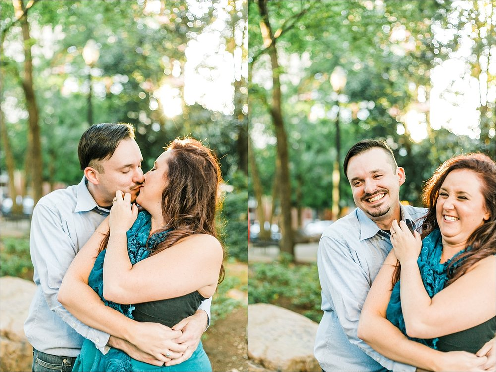 krutch park engagement session knoxville