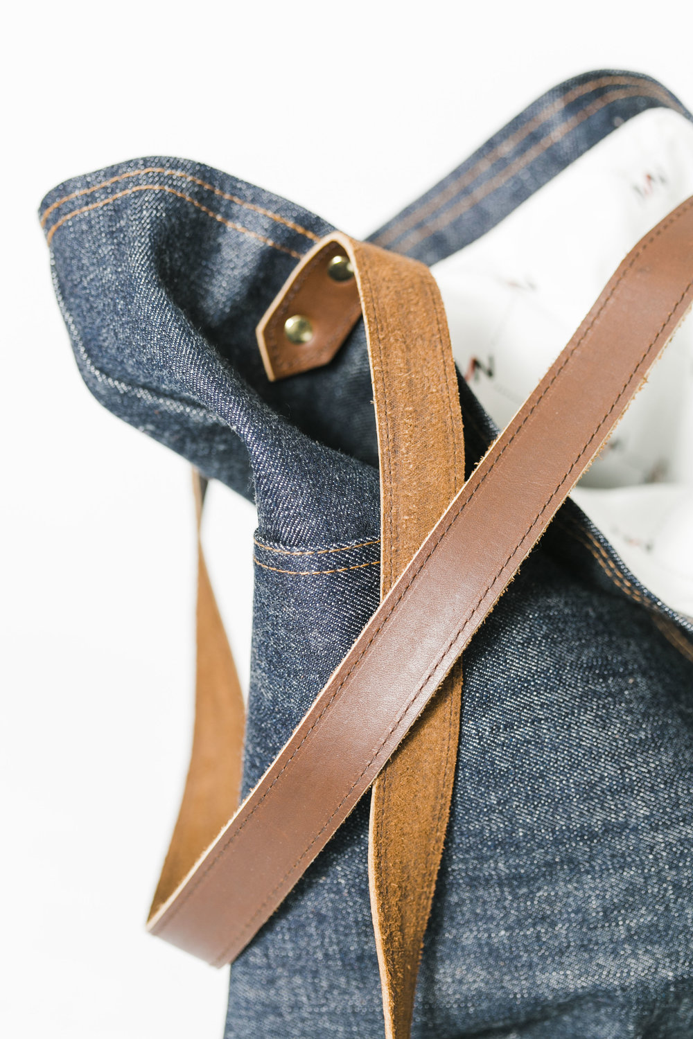 Marc Nelson Denim Bag Knoxville Commercial Product Photographer