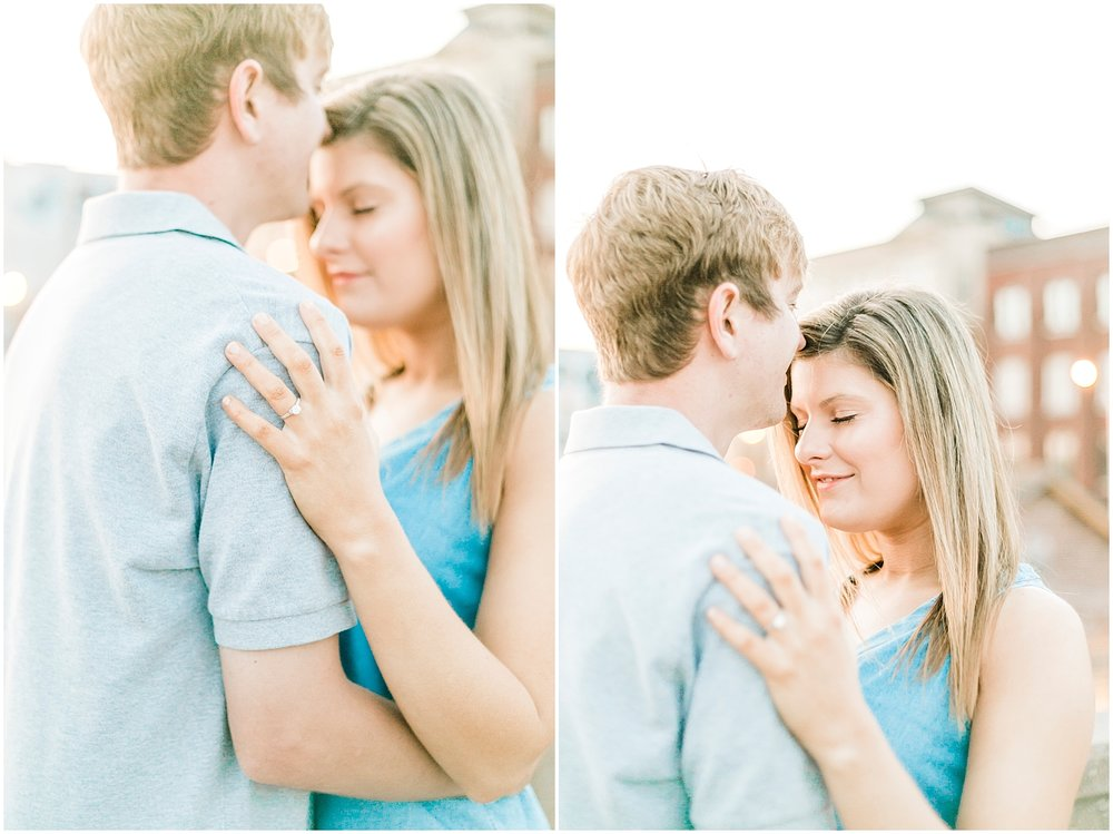 Downtown Knoxville Engagement Photography Sunrise