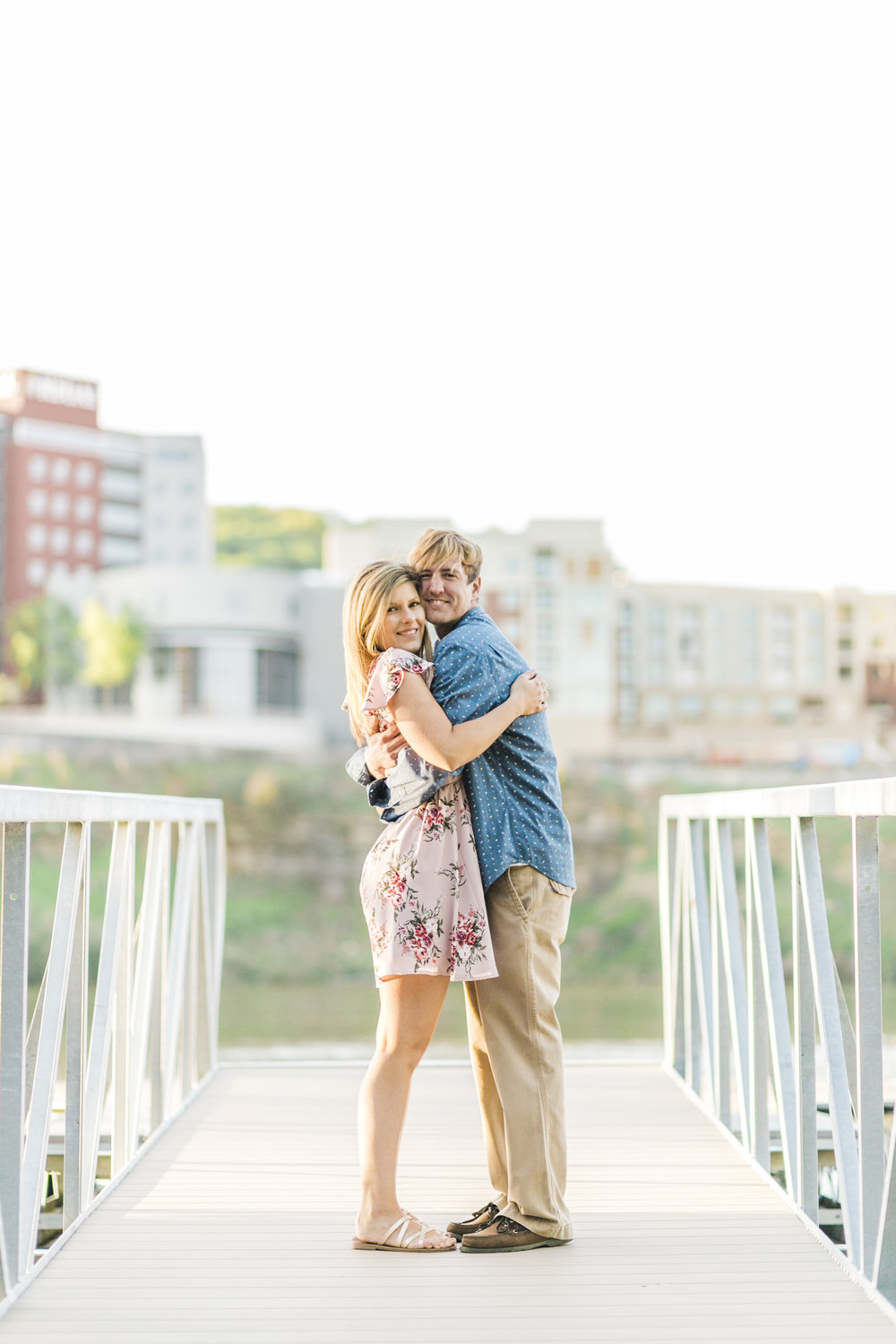 Knoxville Riverwalk Engagement