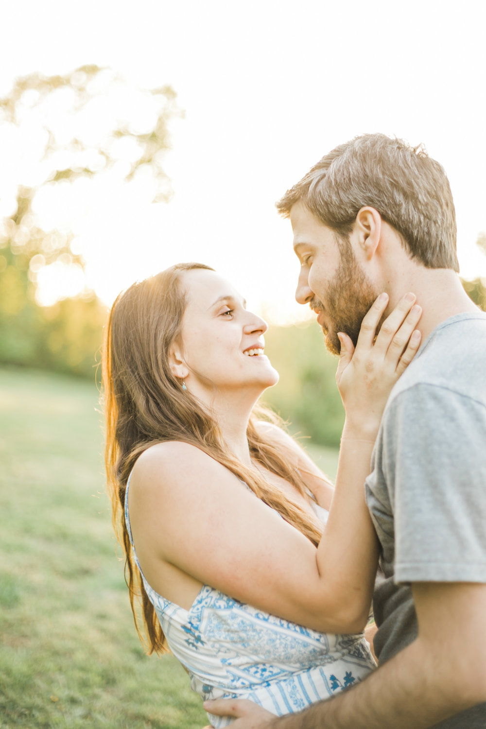 Knoxville Engagement Photographer Country Manor Acres