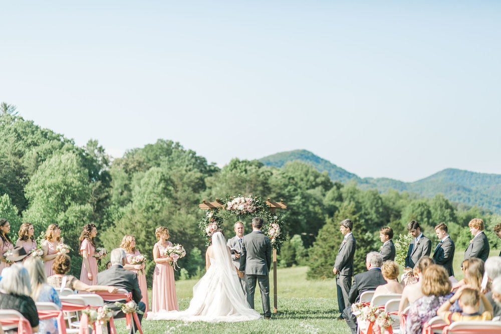 townsend great smokey mountains wedding country manor acres