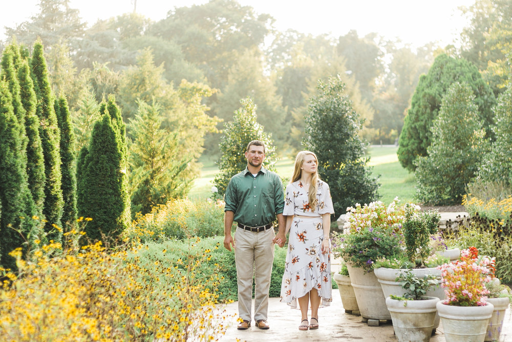 knoxville botanical gardens wedding photographer