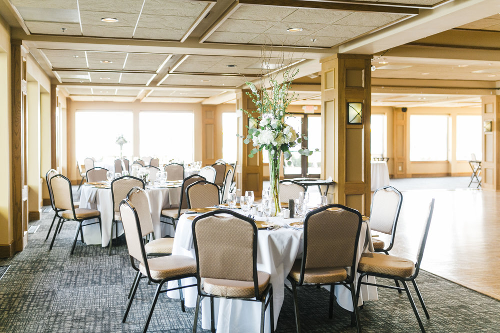 tellico village yacht club wedding indoor ballroom knoxville