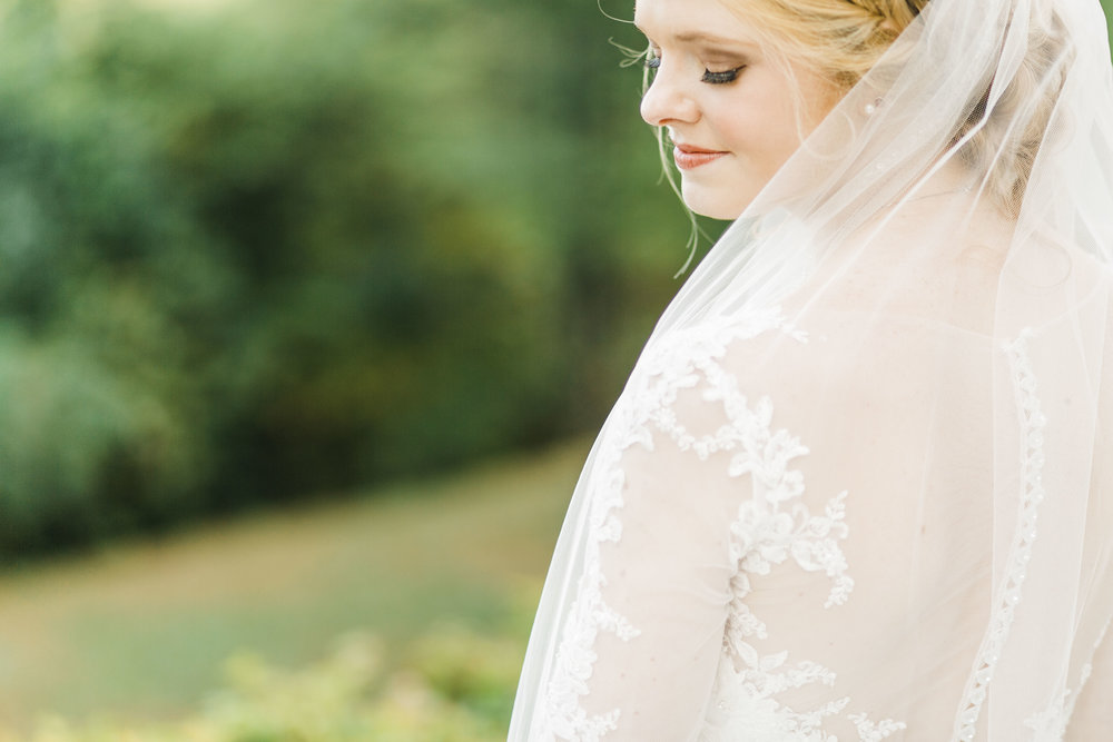 bridal portraits knoxville beauty by blair