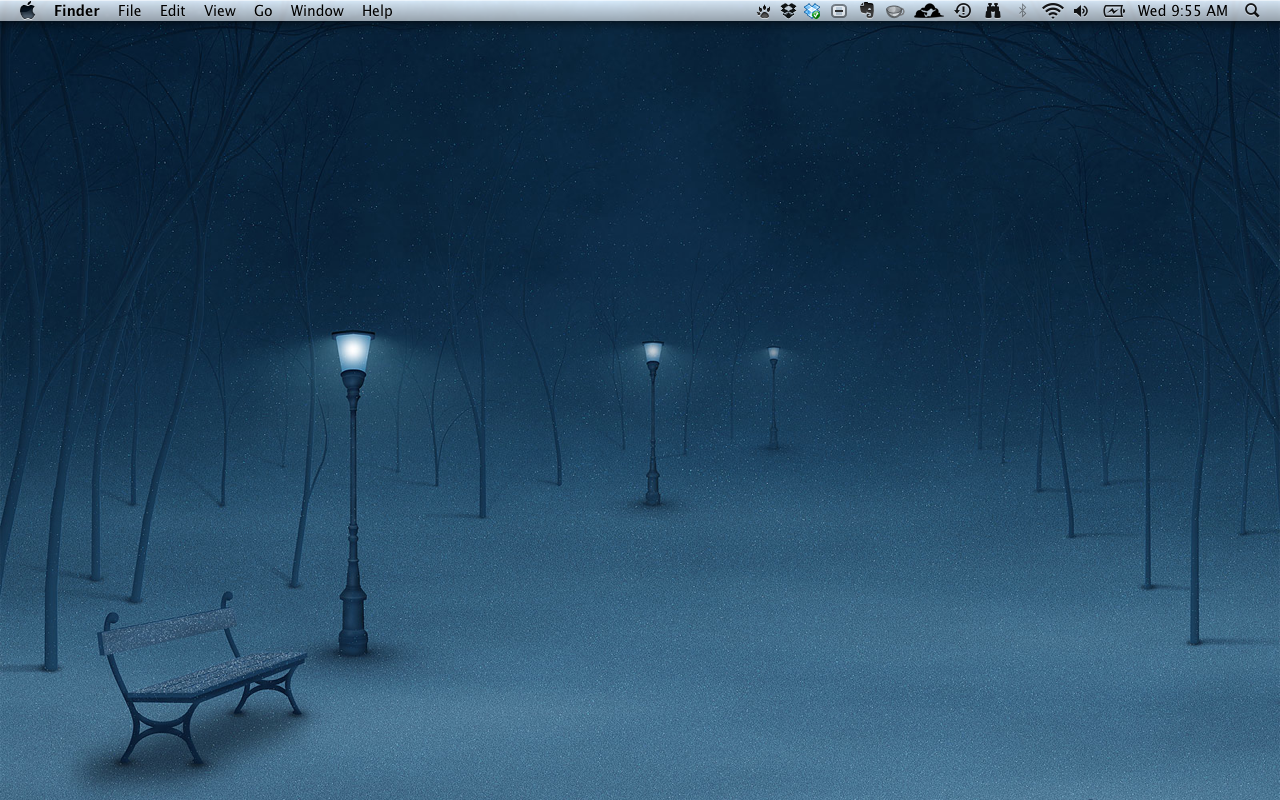 MacBook Christmas Background