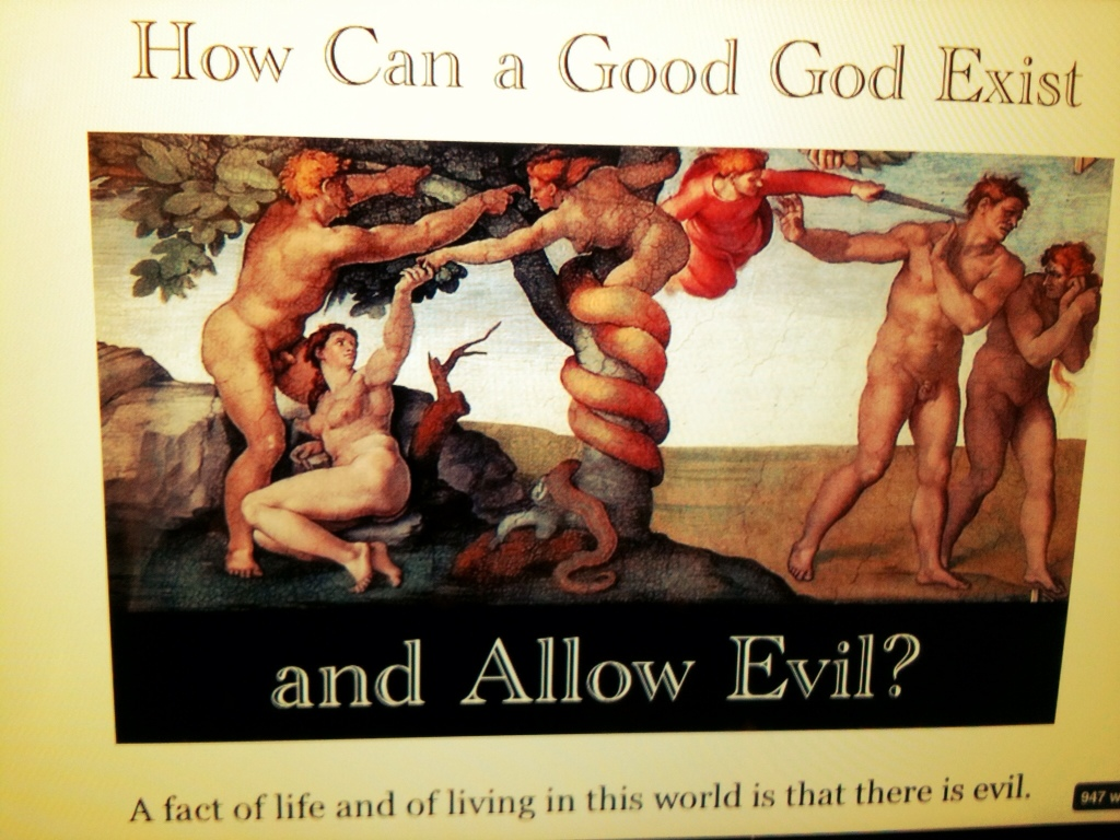 How can God exist and allow Evil?