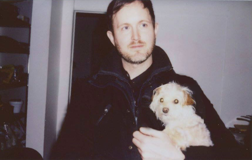 Phil Kibbe with his little dog Scout