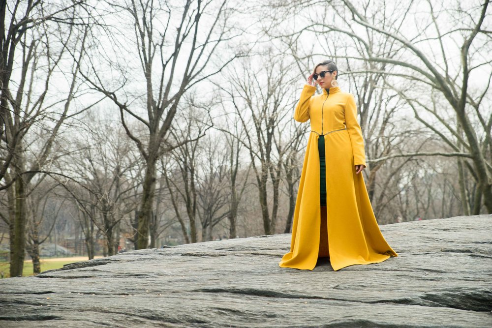 Fit for a QUEEN.  Photo Credit: Hans Alcindor ~Instagram:@MisterCanon  Fashion Assistant: Arianna Burgos