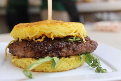 The Ramen Burger.