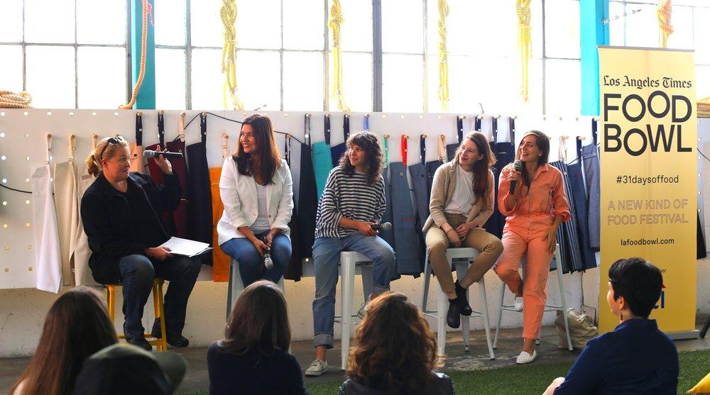 Noelle Carter, Briana Valdez, Emily Fiffer, Sarah Hymanson, Sara Kramer