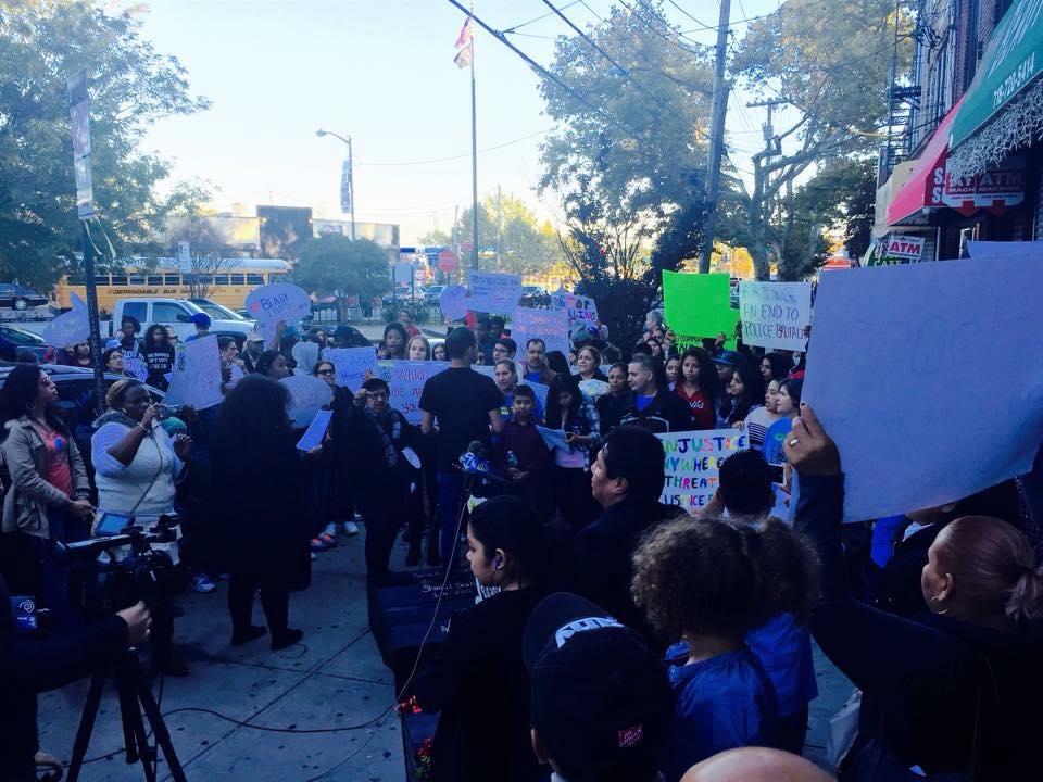 Marchas para licencias 2015 - Organizaciones en New Jersey se juntaron para empujar para licencias de conducir. Movimiento Cosecha no existía en el tiempo de este empuje del 20015 pero es necesario recordar las luchas pasadas.
