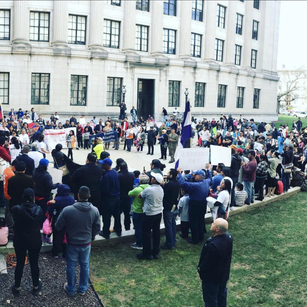 Marcha de Cosecha NJ en Trenton 4/21/18