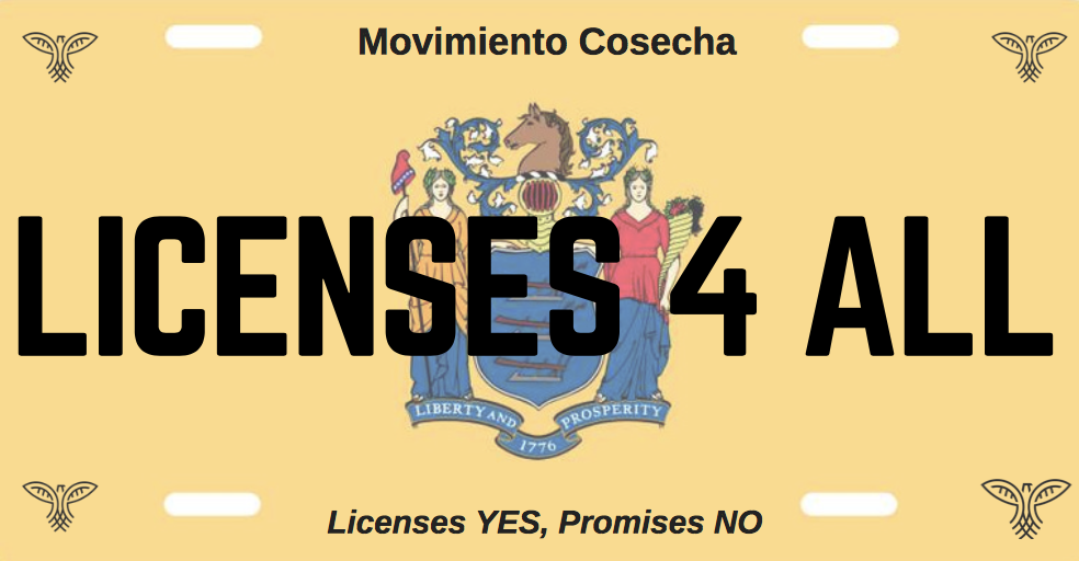 Our license campaign takes us one step closer to the respect, dignity and permanent protection that we need in New Jersey. It's time to move on to our second campaign phase. -