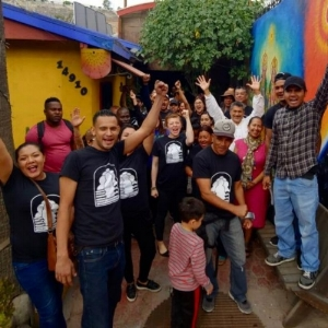 You can donate to Pueblos Sin Fronteras, one of the main groups providing material support for the caravan.   You can donate to their fundraiser here.