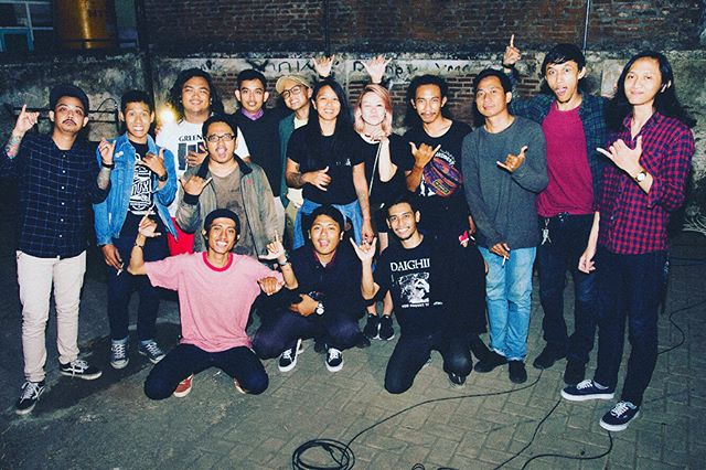 About last niiight! Thanks Sidoarjo for the memories! We love you guys! Come to Hawaii soon💕🌴