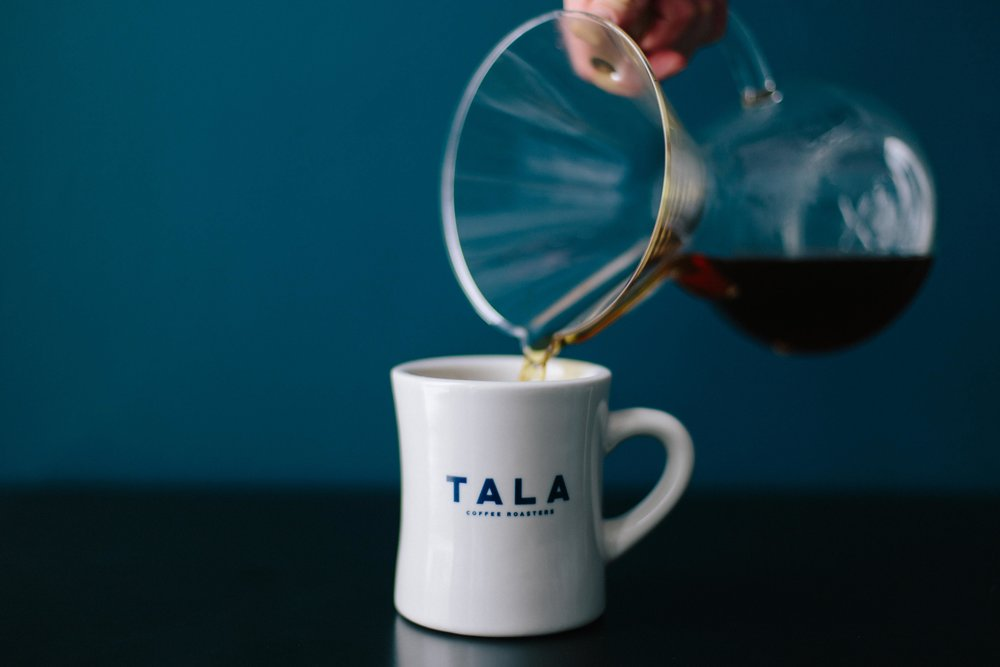 serve tala coffee -