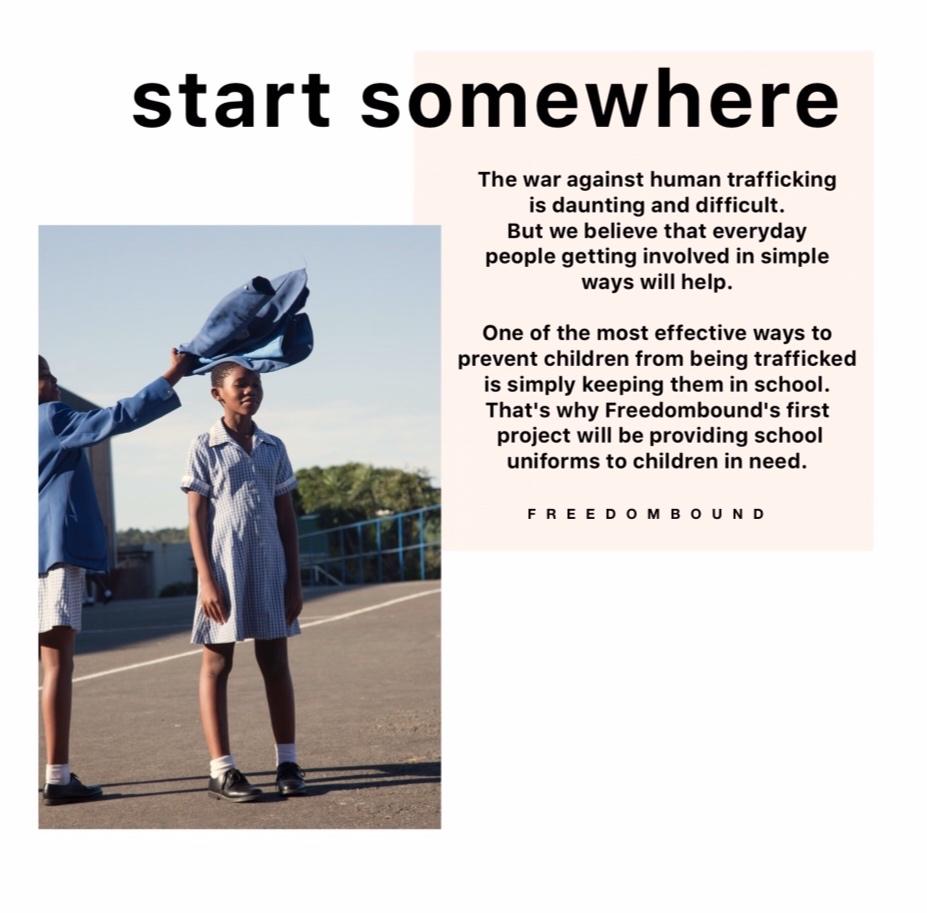 start somewhere