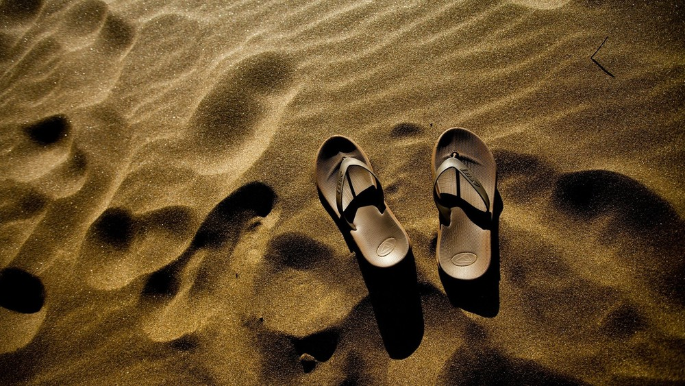 Following Jesus with Bare Feet... -