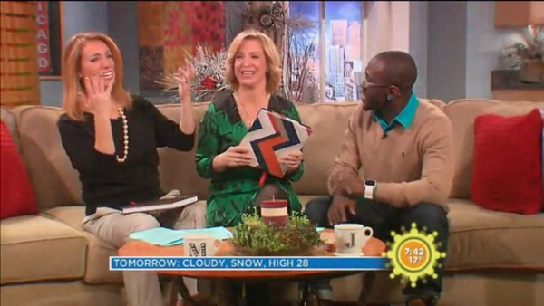 "WCIU-TV ""YOU & ME THIS MORNING"" INTERVIEW & APPEARANCE"
