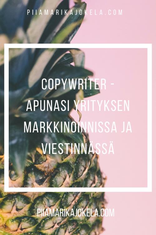 copywriter mainostekstit piiamarikajokela.com