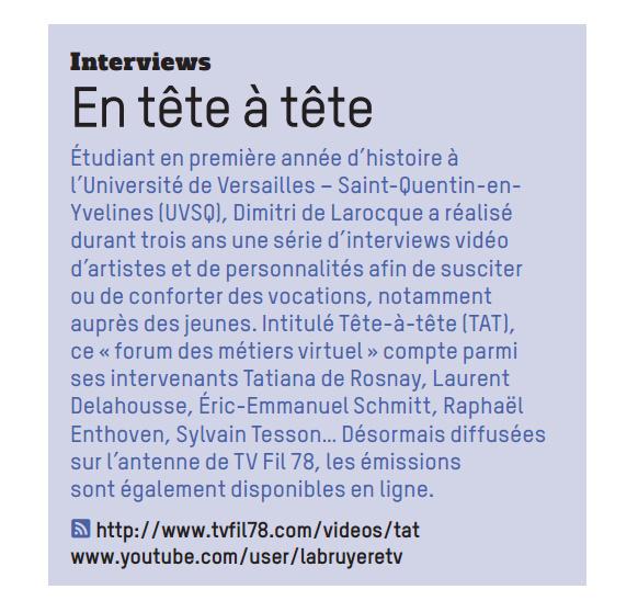 """""""Le Petit Saint-Quentin"""" - décembre 2014"""