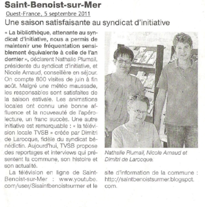 Ouest-France - 5 septembre 2011