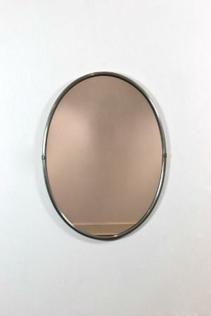 Aluminium framed mirror     Sold
