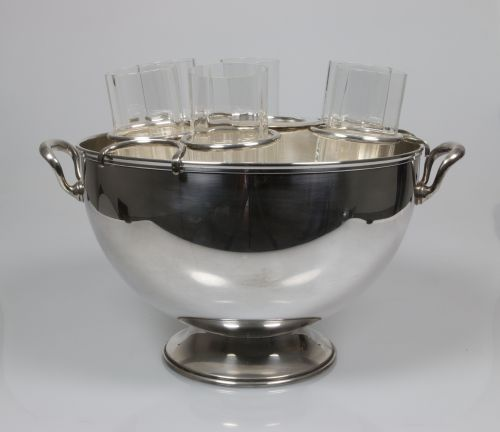 Silver Plated Cocktail Bucket     Sold