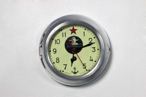 Authentic 5-CHM Soviet submarine clock by the Vostok factory (Chistopol, Russia)