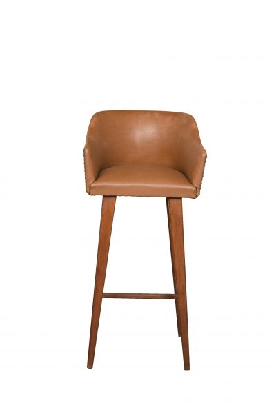 A 1950s Child's High Stool