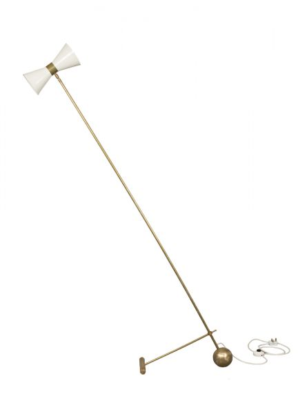 Stilnovo Floor Lamp, Circa 1950, Italy     Sold