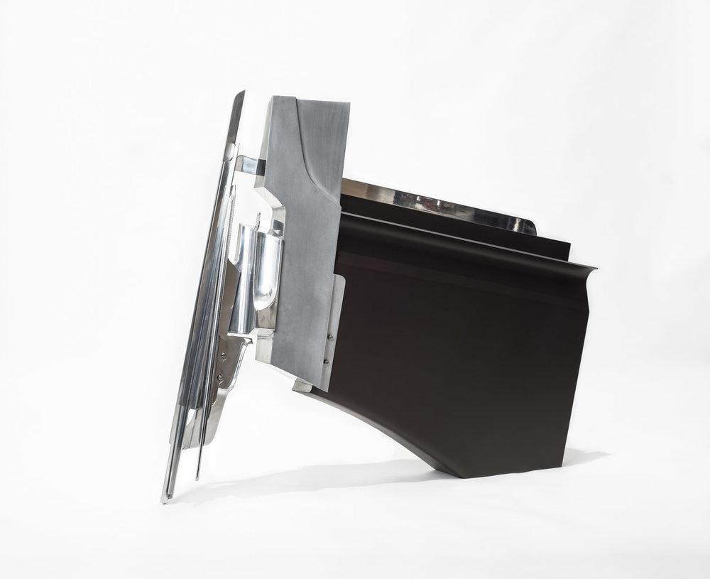 Hybris   Aluminium | 98 x 113 x 20 cm