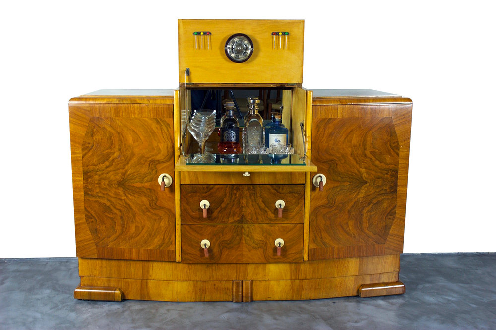Art Deco Drinks Cabinet