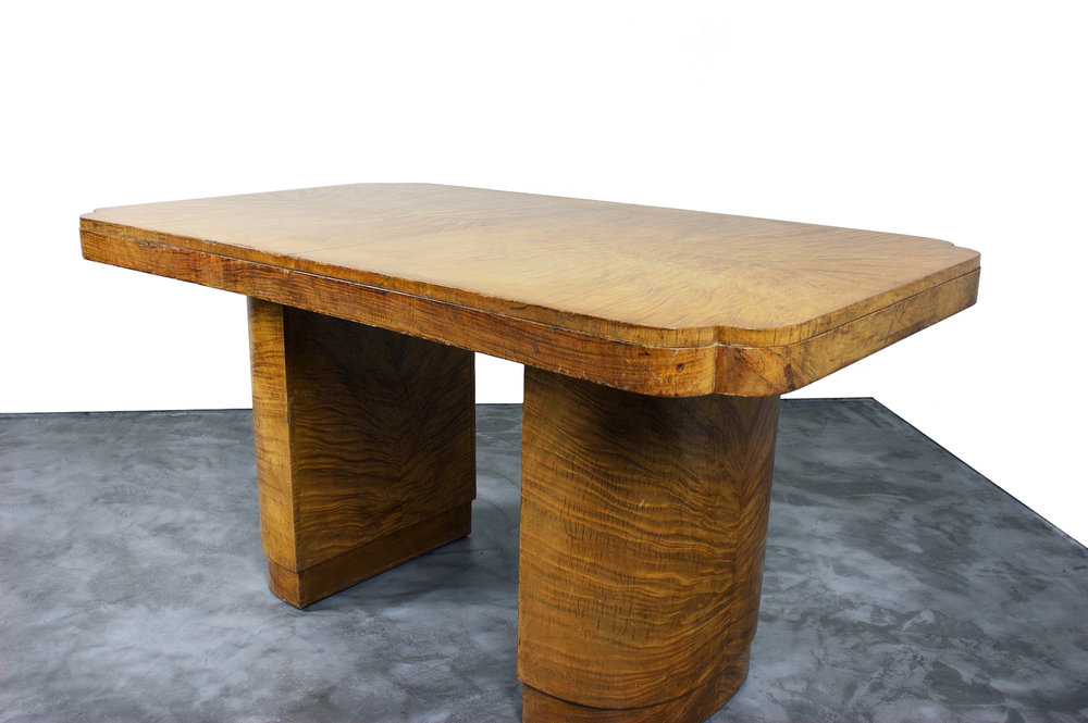 An Art Deco Centre Table/Desk