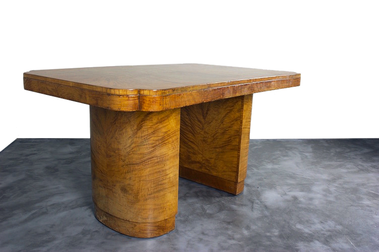 An Art Deco Center Table/Desk