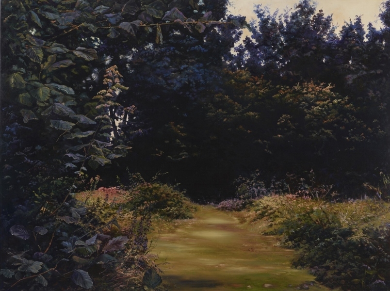 Hannah Brown - Nocturnes, oil on linen, 150cm x 200cm