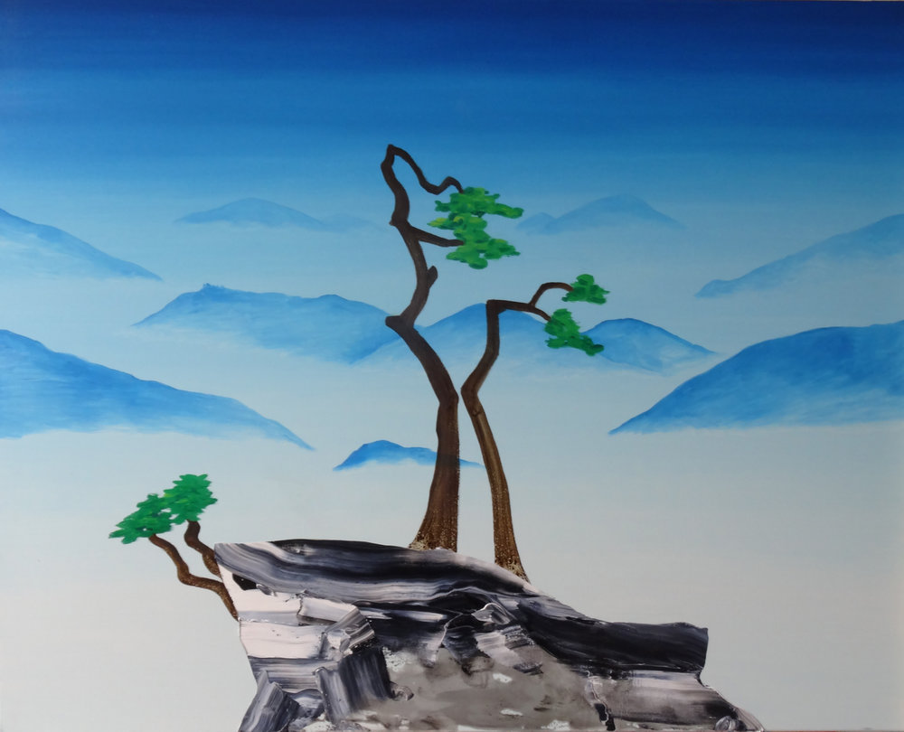 Jane Rainey  Vista | Oil on canvas | 100cm x 120cm