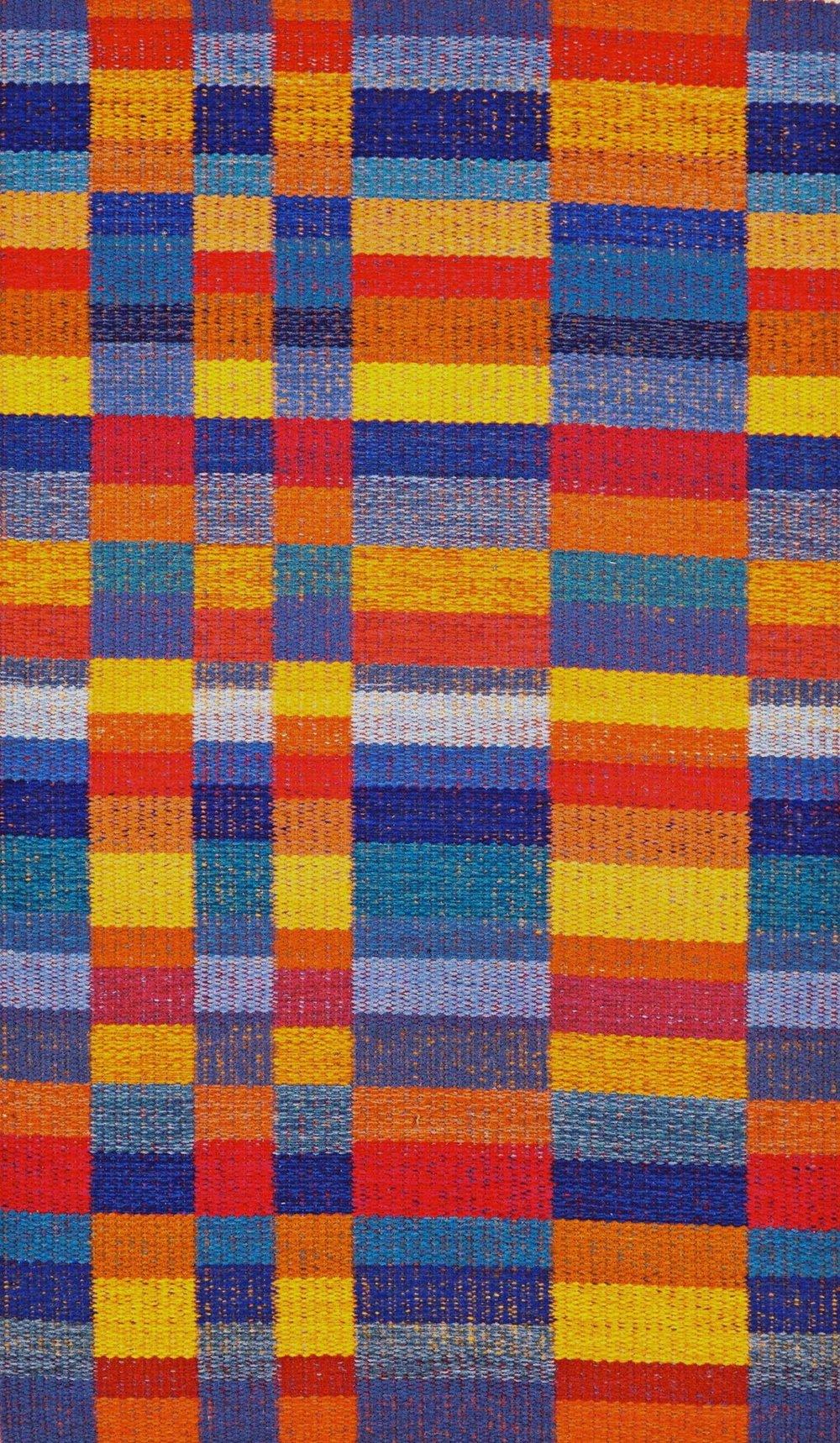 JJ0088.  Wool & linen. 112 x 190 cm.