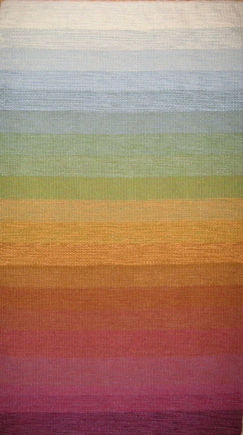 JJ0127.  Wool & linen. 87 x 147 cm.