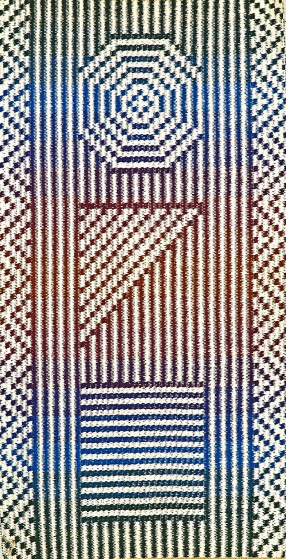 JJ0091. Cotton & linen. 94 x 178 cm.