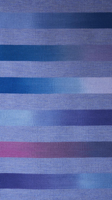 JJ0151  Wool & linen. Hand dyed weft. 94 x 152 cm.