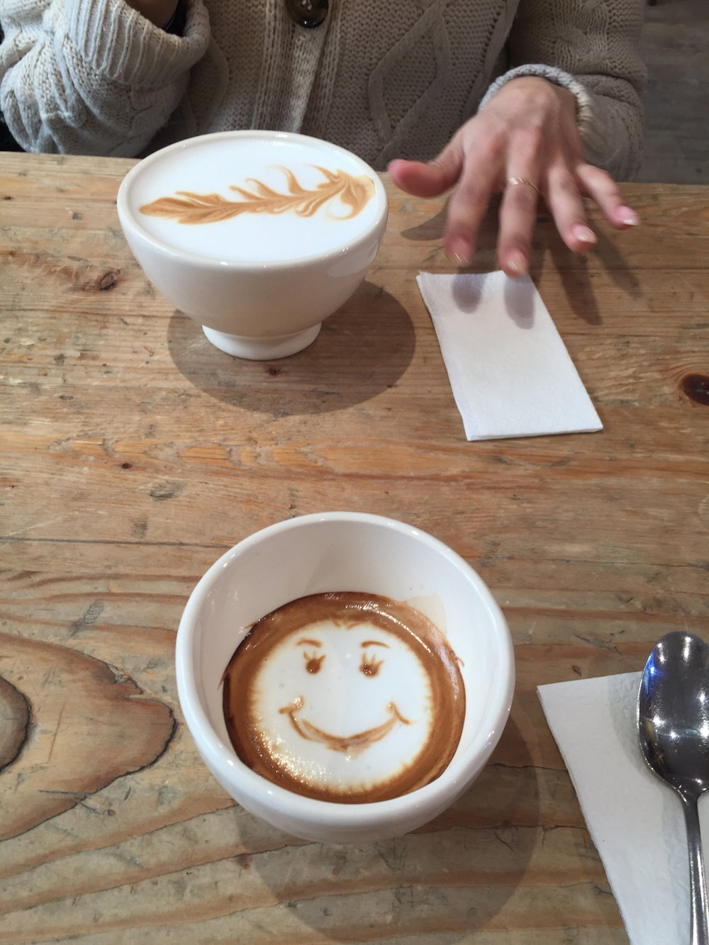 Received a smiley face on my macchiato recently and again a small thing is now memorable, as it's clever and also put a smile on my face, that's the aim with content, make it memorable and put a smile on peoples faces.