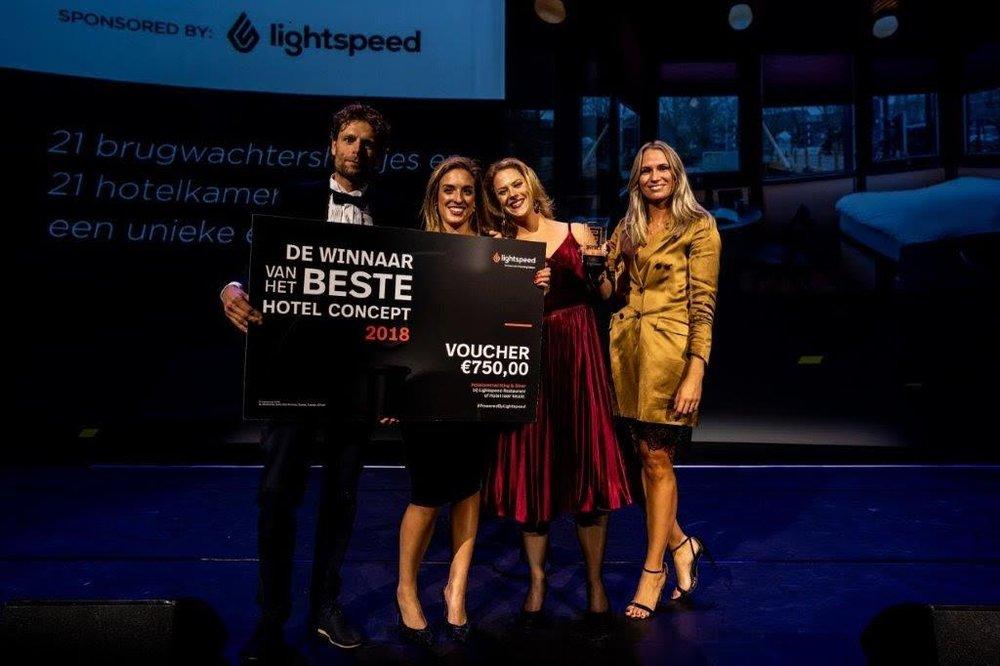 SWEETS hotel gewinnt ENTREE Award -