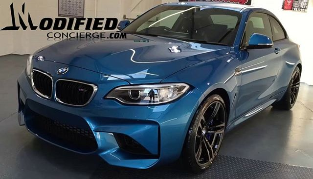 2018 BMW M2 receives a touch of @ceramicpro_official paint protection LIKE/COMMENT/SHARE 👇👇👇-----Tag a BMW  #bmw #m4 #paint #protection #6layers #4h #interior #exterior