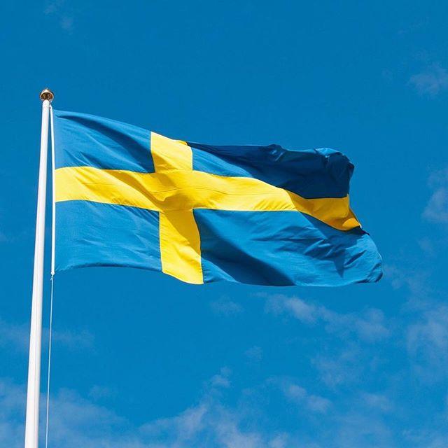 Today is National Day in Sweden - Glad Nationdag Sverige! 🇸🇪 Quick fact: In 2005 National Day became an official Swedish public holiday. 😀 Önskar alla en fin dag.  #nationaldag #travelsweden