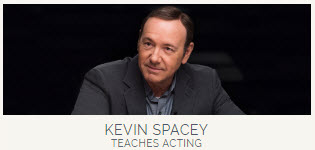Kevin Spacey & storytelling