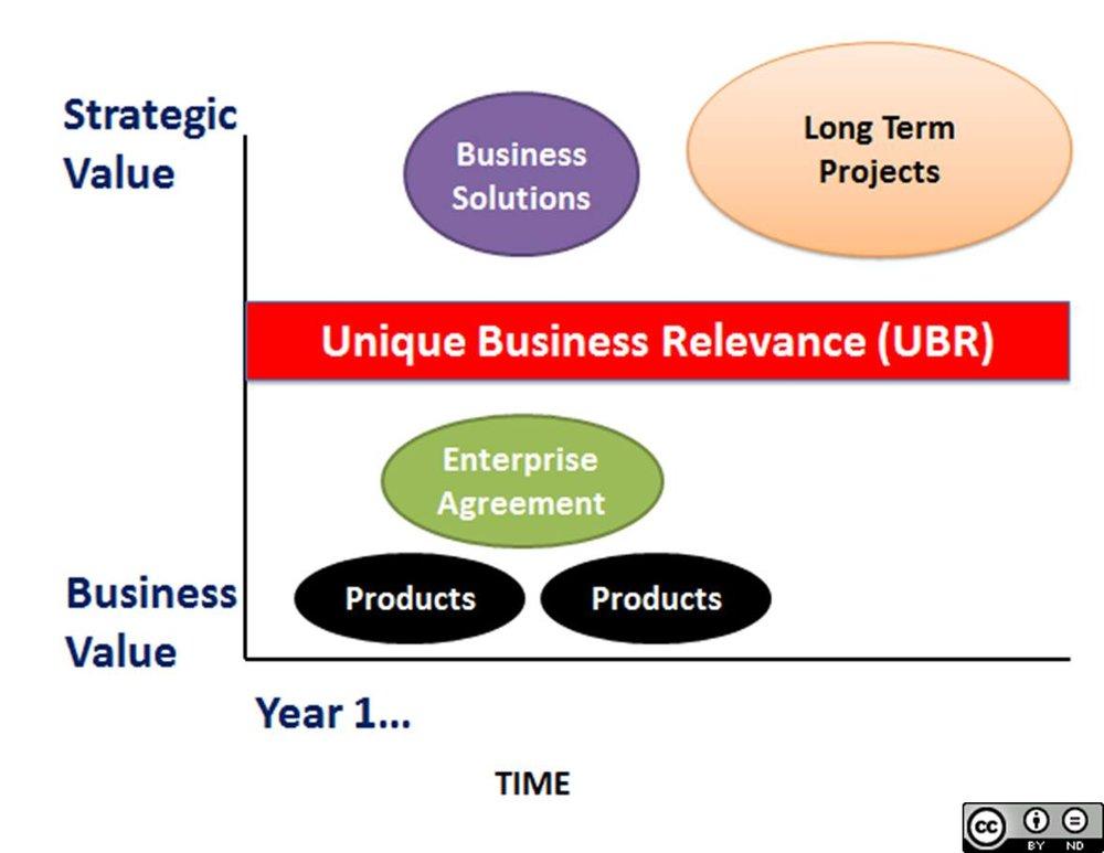 Unique Business Relevance (UBR)
